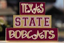 Texas State Bobcats! / by Sara Hildebrand
