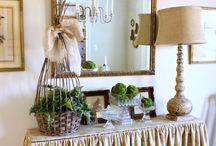Kitchen buffet/desk / by Erin Van Arsdell Durning