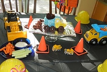 H's fourth bday (he wants construction) / by Brie McPhall