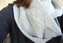 Knitting Infinity / Infinity Scarf Knitting Patterns / by Lollie - Fortuitous Housewife