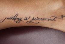 Tattoos & Piercings / by Chelsea Gray