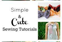 sewing techniques & tutorials.  / sewing techniques & tutorials / by Del