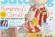 Crafts - Cross Stitch Magazines / by Liz Vilagos