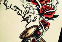 alot of tattoo ideas / by Melinda Brown