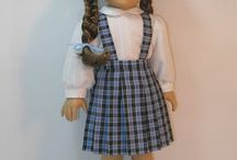 american girl doll patterns / by Sheila Mackenzie