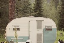 Dreaming.... / Small camper remodels  / by Maria Cain
