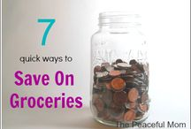 Cut Your Grocery Bill in Half {without couponing!} / Tips, tricks and ideas that I use to feed my family of 6 (including 4 teens!) for $125 a week. / by Kimberlee Stokes
