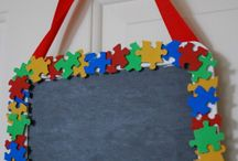 Autism crafts / by Stephanie Brown