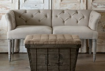 H \ UPHOLSTERED FURNITURE / Upholstered furniture for the Home / by Camille Winona