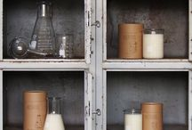 Alchemy Produx / Alchemy Produx is the project of a Melbourne pair, who have combined their backgrounds in fashion design and chemistry to craft their handmade candles. Alchemy candles are created with 100% natural soy wax and carefully hand poured into laboratory glassware, such as beakers and conical flasks. Alchemy candles are a concoction of minimalist and industrial home wares and chemistry class nostalgia.  www.alchemyprodux.com / by The Big Design Market 5/6/7 Dec 2014