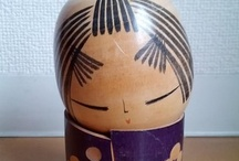 Kokeshi Doll's / by Joan Canning