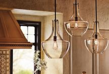 Kitchen & Bathroom Lighting / Modern, stylish #LightFixtures to complete your kitchen or bathroom remodel.  / by MasterBrand Cabinets