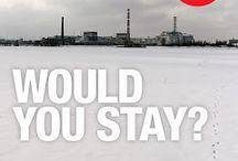 MFR's websites, blogs + social media / by Michael Forster Rothbart - After Chernobyl, Fukushima