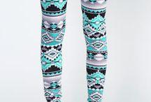 Aztec leggings / by Sedee Omokaro