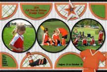 Scrapbooking-sports layouts / by Tiffany Andrews James