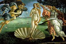 Artist: Bunch of Botticelli / Sandro Botticelli (1445-1510)~Italian (Florence) painter of the Early Renaissance  / by Lisa Golab