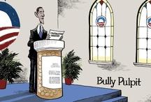 Political Cartoons / by ForAmerica