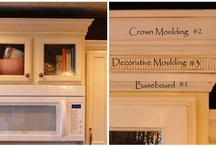 Trim/moulding / by Danielle Huff