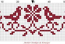 Cross stitch / by Carolyn Vagts