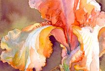 Artistic Watercolors / Watercolor is so lovely, in all its forms. Here are my favorite watercolor paintings, sketches and drawings. / by Marie Wise