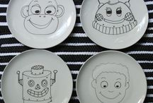 Dinner Craft Ideas / Crafts for children to create a fun dinner table / by Shibley Smiles
