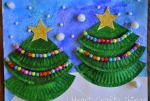 Holiday theme art / by Kathy Dwyer Strandes