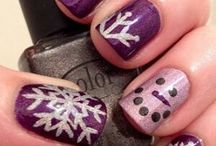 Winter Nails / by MoManisMoProblems