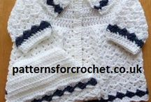 "Children: sweaters and jackets - Free Crochet Patterns /  Check out my facebook page and click ""LIKE"" to help me grow:  https://www.facebook.com/Etsycomshopgranniescrocheting?ref=hl / by Donna Veatch"