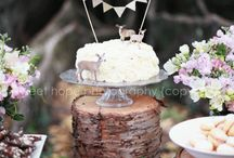Baby Shower {Rob & Angie} / Modern and natural woodland baby shower. / by Amanda Santee