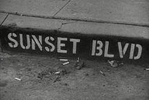 Sunset Boulevard / by Ashley Linton