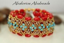 Bead patterns bracelets / by Annette Nolborn