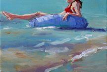 Art--Just Beachy / by Mickey Betz