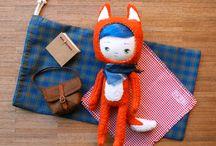 Animal dolls / by Lisa Steward