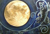 Bring Me The Moon / Lovely Moon / by Rona Ware