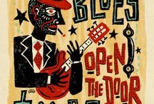 It's the Blues, man. It's the Blues..... / Legends and music of the Blues  / by Allen Noble