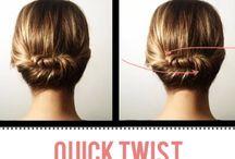 Hairstyles / by Allysha Dutfield