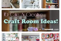 C R A F T Room. / A special place for the {cute & clever} girls to have fun & C R E A T E their Masterpieces. (You got me all excited about this, Amy:)! / by Miss Molly