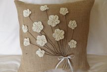 Burlap crafts / by Tisa Noble