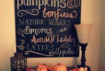 Fall/Halloween/Thanksgiving / by Sarah Montemayor