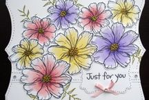 Floral Greetings Set / by Hobby Art