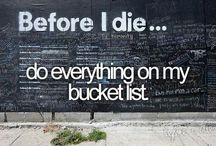 Bucket List / by Jessica Graves