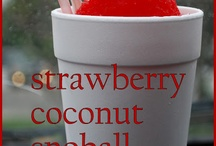 strawberry coconut 'snoball' and ponchatoula, louisiana / by from maggie's farm