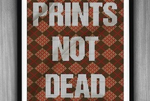 Print Is Not Dead / [Common board] Here you can see that print media isn't dead - Please please put something relevant / original / kicking ass in connection with the paper media. Thank you ! / by Jean-Philippe Matt