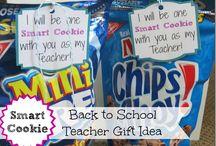 Teacher gifts / by Allison Silvas