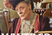 """What is a Week-End?"" (Lady Violet, Dowager Countess of Grantham) / by Mo Nichols"