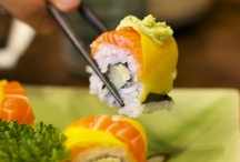 Sushi / I love sushi / by Corina .