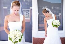 Modern Wedding // Gowns / by Kate Myhre // Modernly Wed
