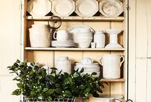 Decorating - Kitchen / by Stephanie @ The Cozy Old Farmhouse