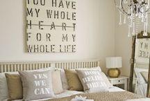 home - master bedroom / by Jenn Johnson