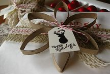 Ways to wrap gifts / by Betsy Pool @ Romance on a Dime